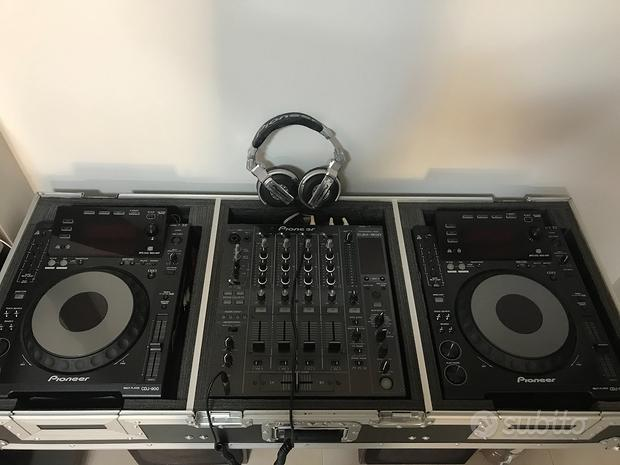 Console Pioneer 2 CDJ900 DJM800 HDJ1000 Case