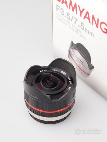 SAMYANG 7,5mm X MICRO4/3 FOTOLANDIA