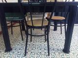 Tavolo Nero in Legno Laccato