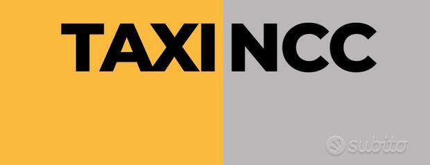 Taxi ncc trasporti