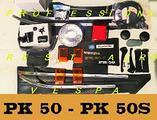 KIT Ricambi Restauro Vespa PK 50 S - PK125S