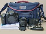 Canon 40D kit con EF-S 18-55 4/5,6 IS STM e borsa
