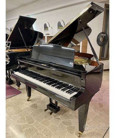Ed. seiler 168 nero lucido pianoforte mezza coda