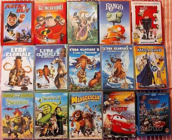 Film in DVD e Blu-ray di Animazione