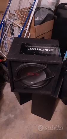 Subwoofer & amplificatore alpine