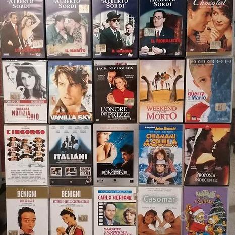 DVD 25 pezzi, generi vari