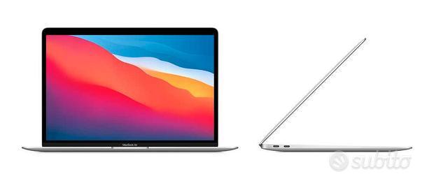 Apple Macbook Air M1 argento garanzia Amazon nuovo