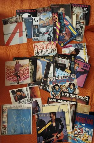 DISCHI CD VINILE 33 LP 45 MIX no blocco