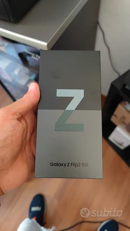 Samsung Galaxy Z flip 3 5G verde 8/256gb