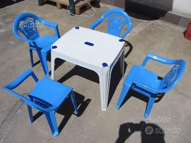 Tavolino + sedie bimbo