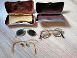 Occhiali Da Vista Antichi Con Custodia Originale