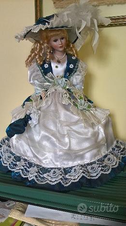 Bambola anni 70 da collezione