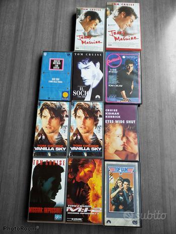 Tom Cruise film VHS lotto n 11 titoli