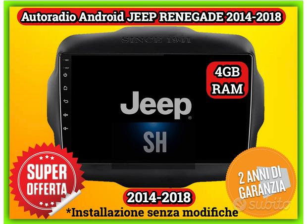 Radio Jeep Renegade   Octacore 4GB RAM 64GB ROM