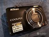 Fotocamera/Videocamera Nikon Coolpix s6300- 16 Mpx