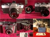 Fotocamere vintage: MINOLTA -ZENIT -ZEISS -NAGEL