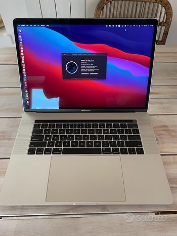 Macbook Pro 15 Retina - 2019 - 512GB - 16GB RAM