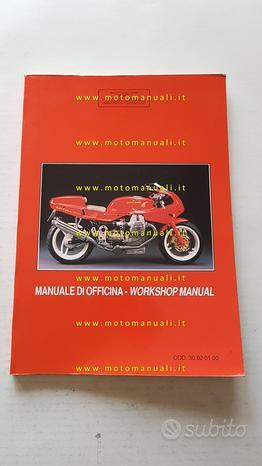 Moto Guzzi 1000 Daytona 1993 manuale officina