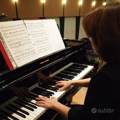 Lezioni di pianoforte, accompagnamento