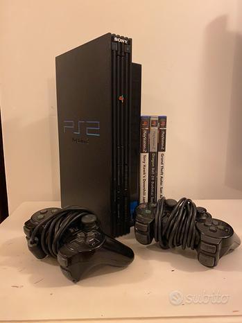PlayStation 2 + 3 giochi