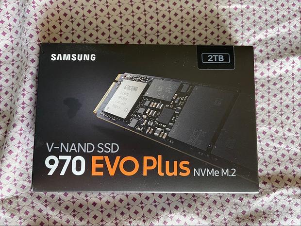 SSD Nvme M.2 Samsung 970 Evo Plus NUOVO