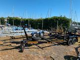 Carrello per barca a vela fino a 7m