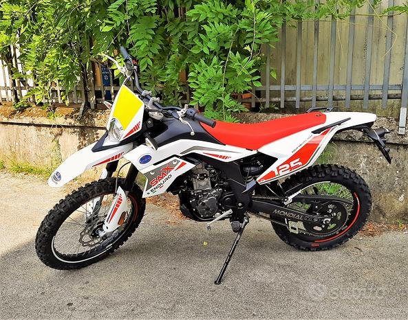 NUOVA Mondial XSM 125cc Enduro LC Mot. APRILIA