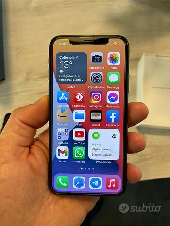 Apple Iphone X 256 Gb Space Grey
