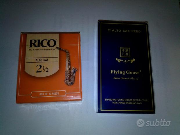 Ance per sax alto 2,5 rarissime ed introvabili
