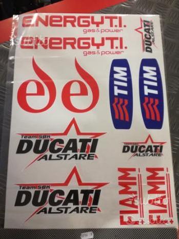 Kit adesivi Ducati Alstare grandi