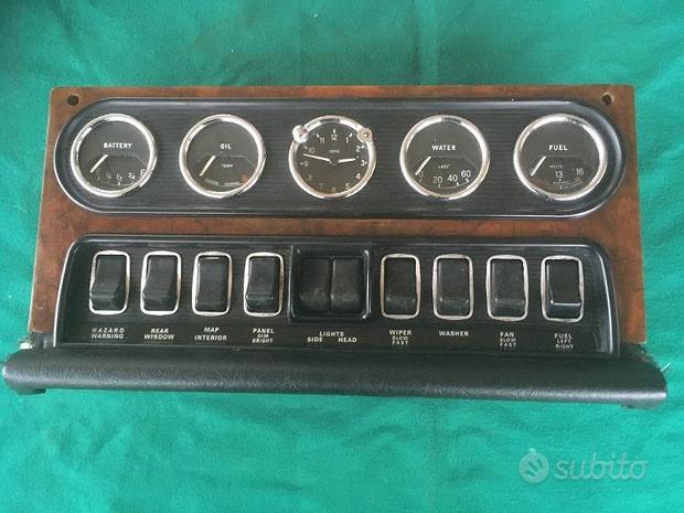 Ricambi per Jaguar XJ6 anno 1968/1973