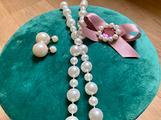 Set parure perle bigiotteria