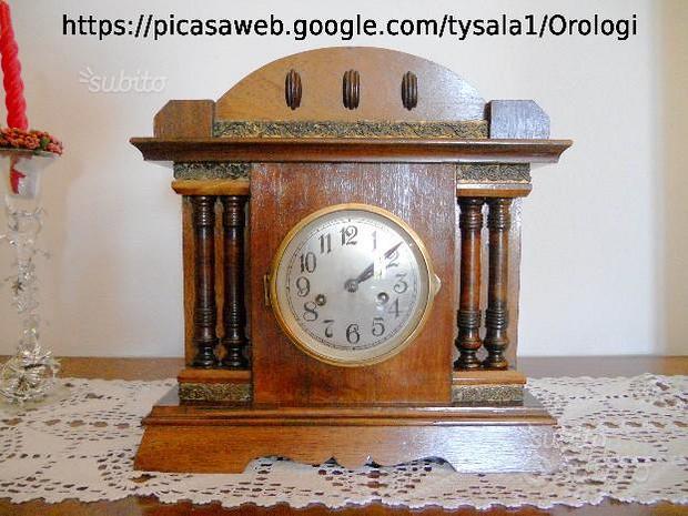 Orologio a pendolo tedesco fine 800