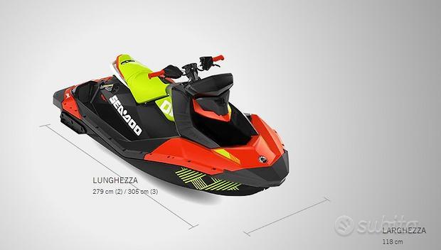 Moto D'acqua Sea Doo Spark Trixx Rotax 900 ACE HO