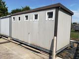 Box prefabbricato bagni e docce modulare 5,4x2,4 m