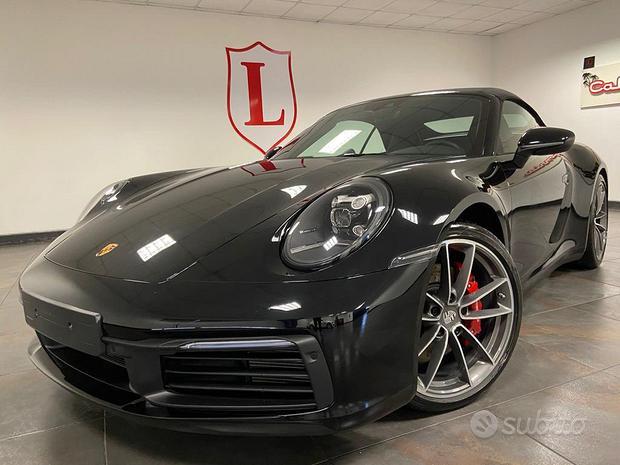 Porsche 911(992) cabriolet 4s ful permute garanzia