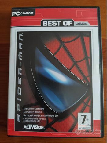 Spider-man gioco pc cd-rom italiano