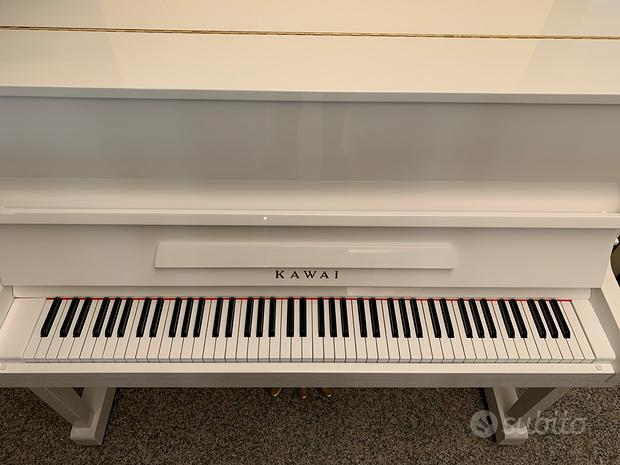 Pianoforte Bianco Kawai Silent serie K