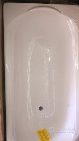 VASCA Amy acrilico bianco 140X70 della Busco