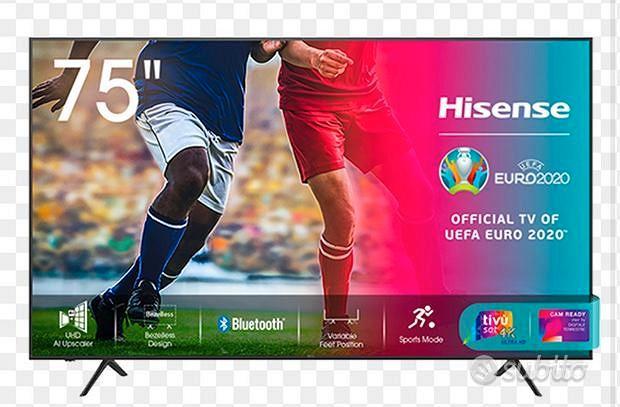 TV HISENSE 75 UHD 4k