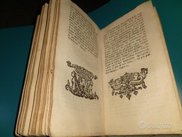 Antico libro del XVII secolo