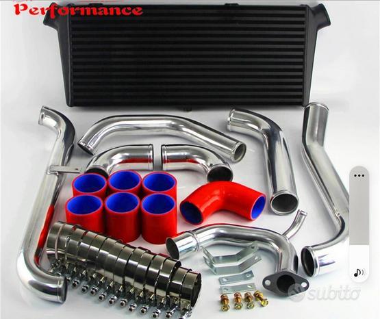 Kit completo intercooler + oil cooler + 2 ventole