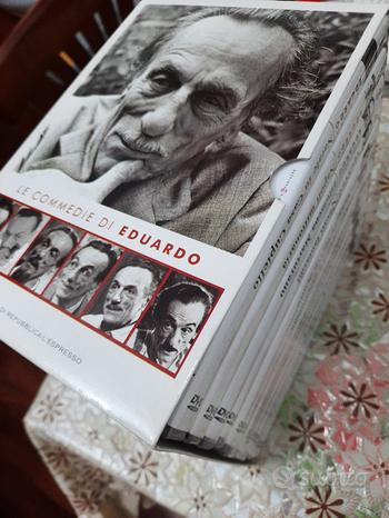 Cofanetto DVD commedie eduardo de filippo