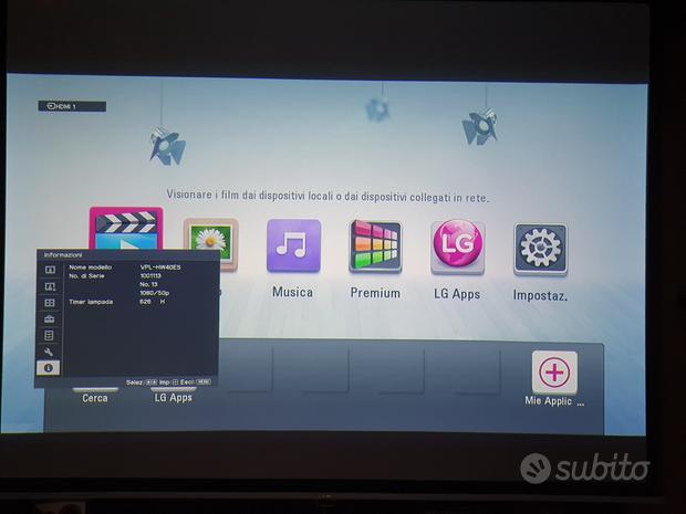 Proiettore professionale Sony 3D SXRD