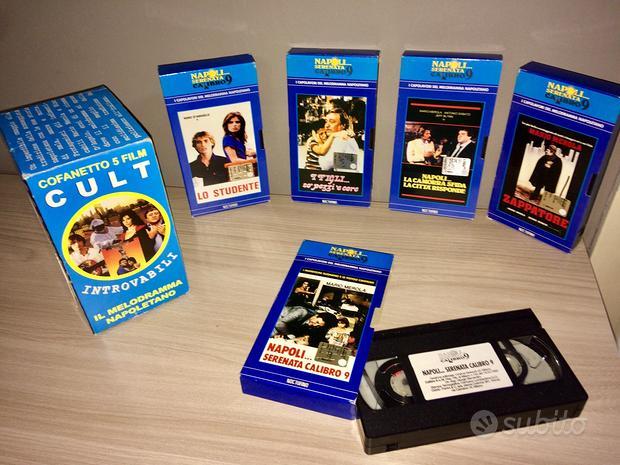 Cofanetto 5 film VHS CULT il melodramma napoletano