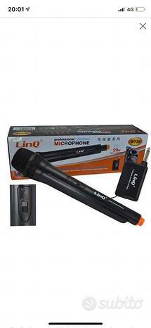 Microfono Linq dinamico unidirezionale Wireless