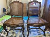 Antiche sedie luigi xv in paglia di vienna