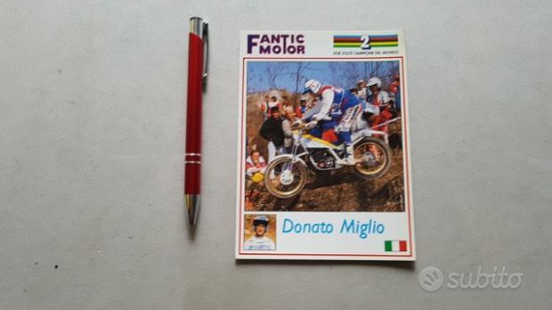 Fantic Motor Trial 303 Donato Miglio cartolina