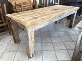 Tavolo in legno massello Abete nazionale c048