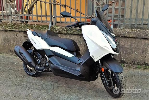 Nuovo SCOOTER Wottan 125 STORM-T Bianco